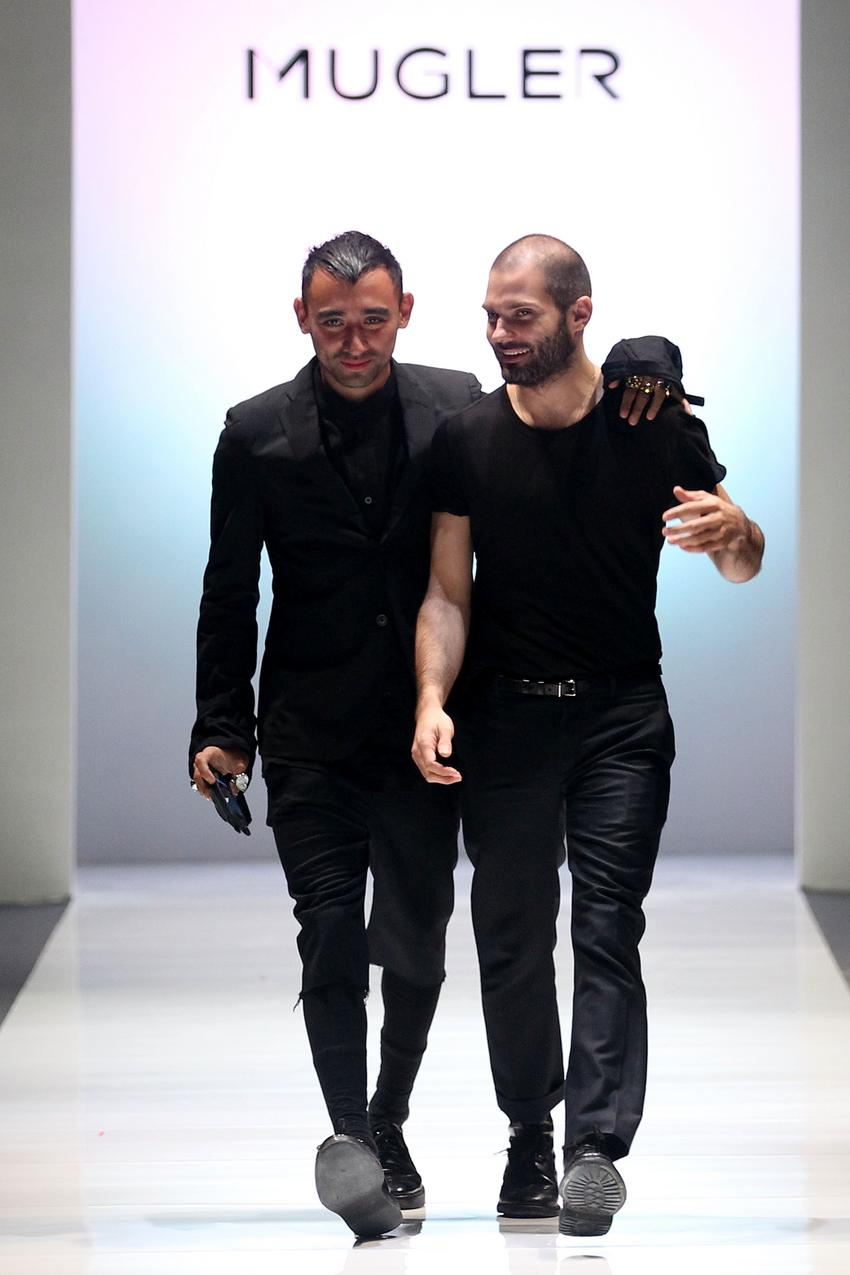 Nicola Formichetti i Thierry Mugler/ fot. Getty Images