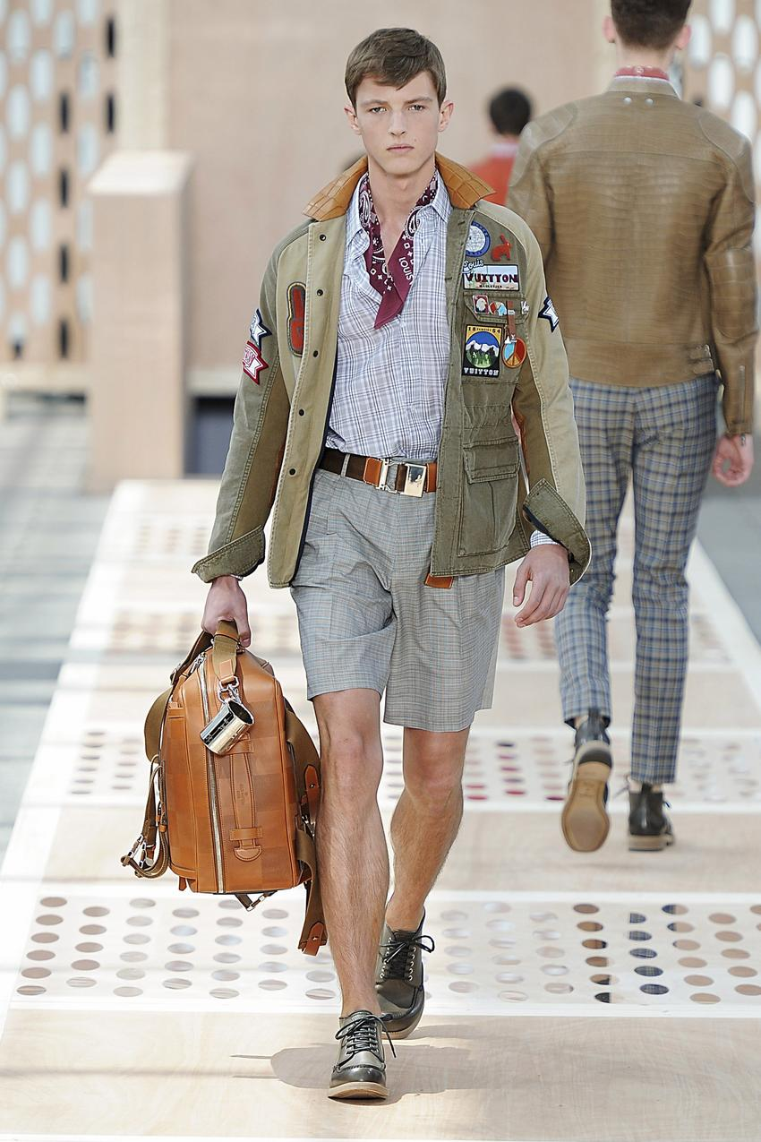 Louis Vuitton - Mens Spring 2014 / Getty Images