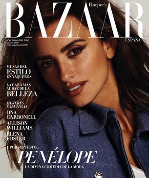 """Penelope Cruz gwiazdą hiszpańskiego """"Harper's Bazaar"""""""