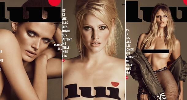 """Ikony modelingu w sesji dla magazynu """"Lui"""""""