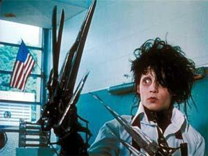 """Kadr z filmu """"Edward Nożycoręki"""""""