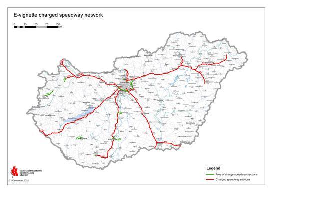 Węgry - na jakich autostradach i drogach obowiązują winiety