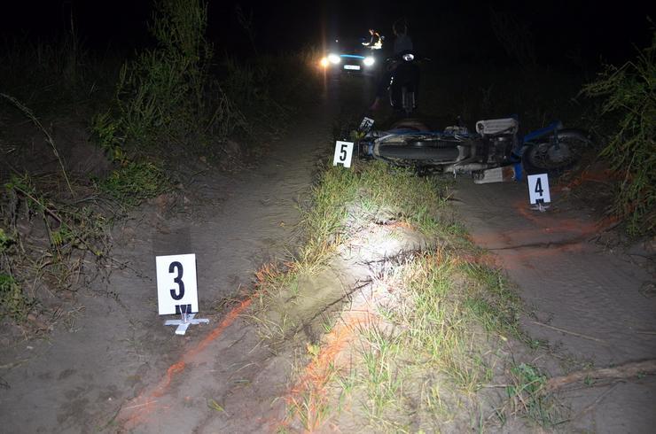Halálos baleset Tompánál / Fotó: police.hu