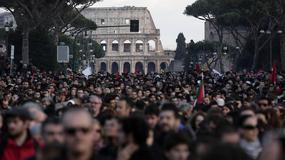 Manifestacja Ligi Północnej w Rzymie: solidarność z Rosją, przeciw sankcjom
