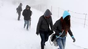Tatry - pierwszy śnieg tego lata!