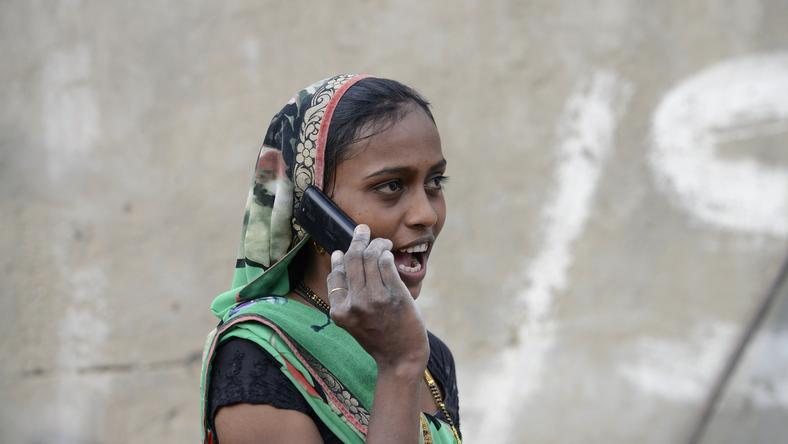 Ezt a nőt 8500 forintra lehetne bírságolni /Fotó: AFP