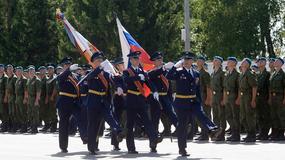 Obchody 20. rocznicy powstania 45. powietrznodesantowej jednostki Specnazu