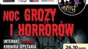 Noc Grozy i Horrorów 26 października w Multikinie