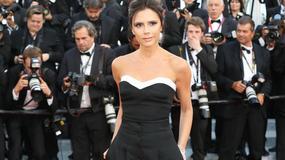 Victoria Beckham w kombinezonie na festiwalu w Cannes
