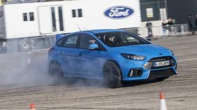 Ford Focus RS: łobuz, rozrabiaka, chuligan i wariat (pierwsza jazda)