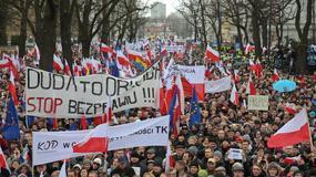 Manifestacja Komitetu Obrony Demokracji. Zobacz zdjęcia!