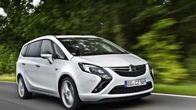 Opel Zafira: limuzyna w skórze vana