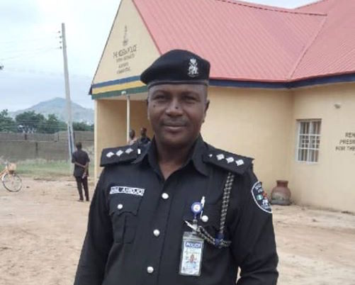 DSP Ahijo Muhammad, DPO of Mubi Division (DailyNigerian)