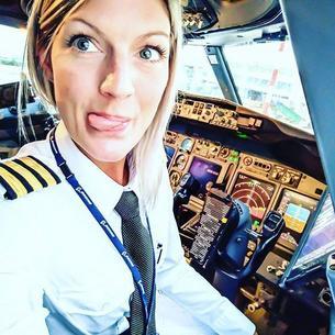 Szwedzka pani pilot hitem w sieci