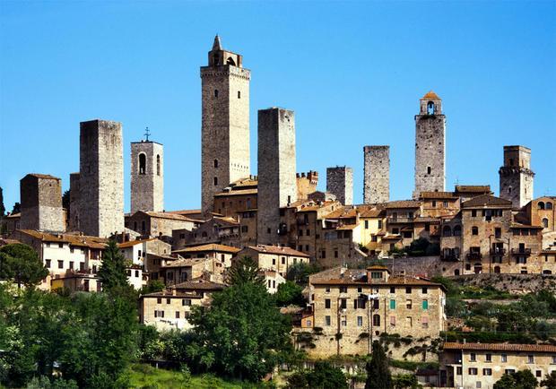 San Gimignano. Najpiekniejsze miejsca Włoch