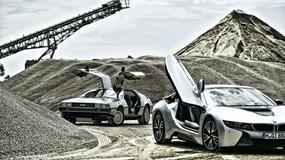 Wehikuły czasu - DeLorean DMC-12 i BMW i8