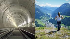Wielka dziura w Szwajcarii, czyli na skróty przez Alpy