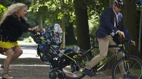 """""""Przyjaciółki"""": Patrycja podczas spaceru z Mikołajem wpada na rowerzystę"""