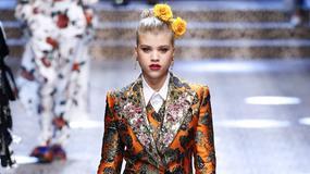 Dzieci celebrytów i gwiazdy social media na wybiegu Dolce & Gabbana