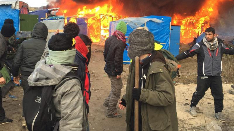 Calais - Fotó: MTI