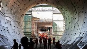 Zakończono drążenie kilometrowego tunelu pod Wisłą