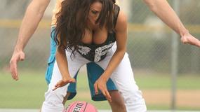 Sportowy dzień seksownej Courtney Stodden