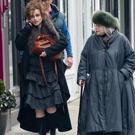 Helena Bonham Carter wybrała się z mamą na zakupy