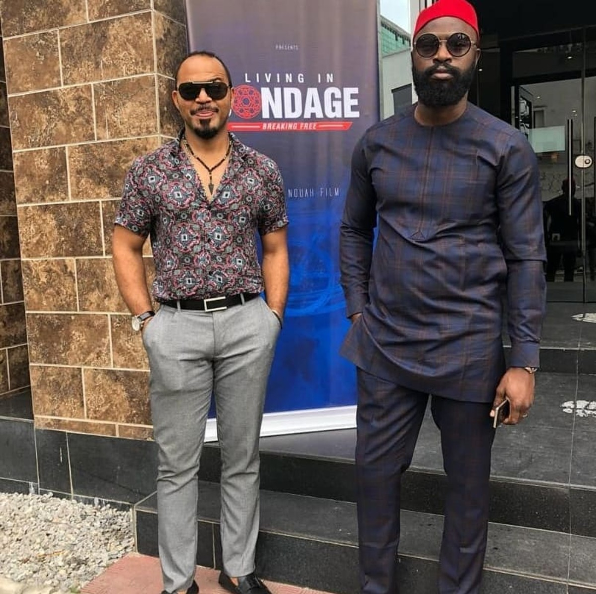 Ramsey Nouah and Charles Okpaleke made magic by acquiring and filming one of the best sequel from a Nollywood original, Living in Bondage: Breaking Free. [Amebo book]