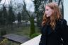 Jessica Chastain w warszawskim zoo