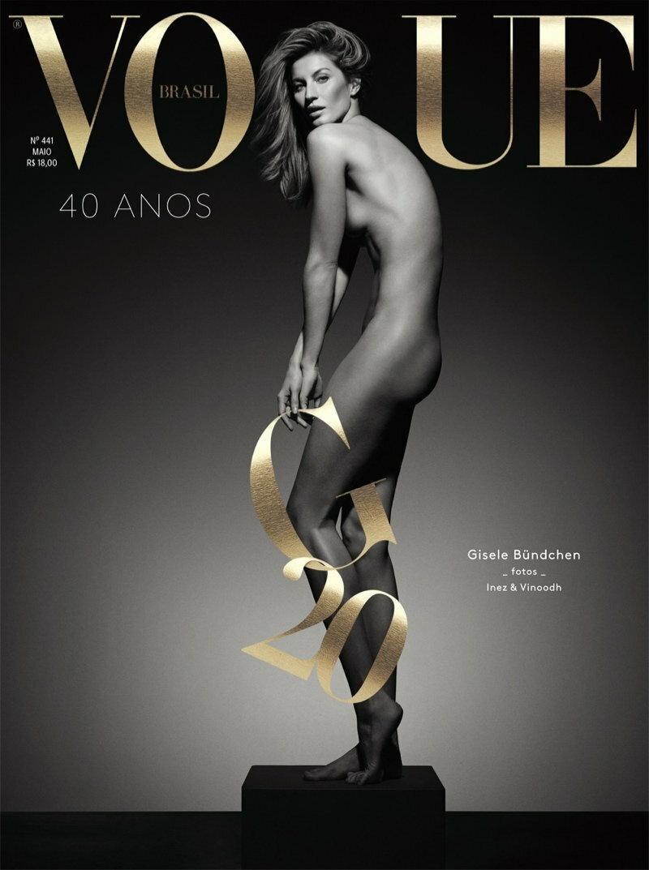 Gisele Bundchen okładka Vogue Brasil Maj 2015