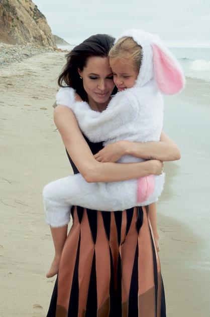 Angelina Jolie Vogue US