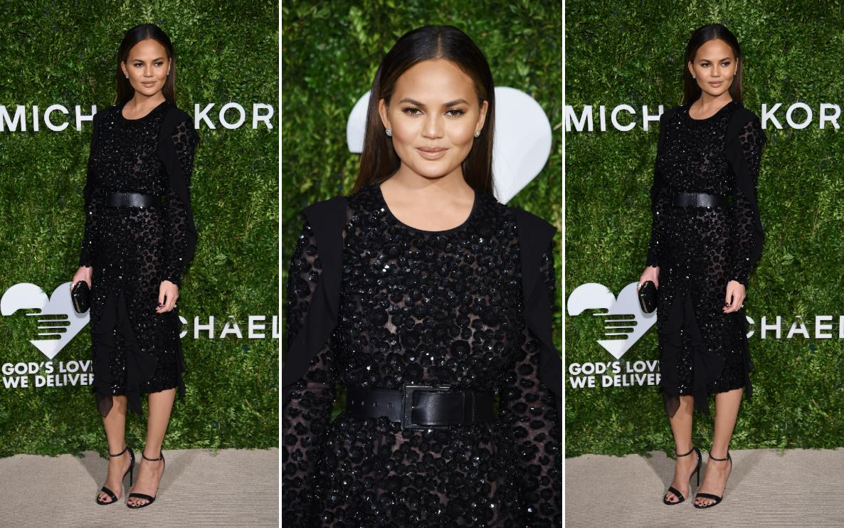 Chrissy Teigen na gali God's Love We Deliver 2016 Golden Heart Awards