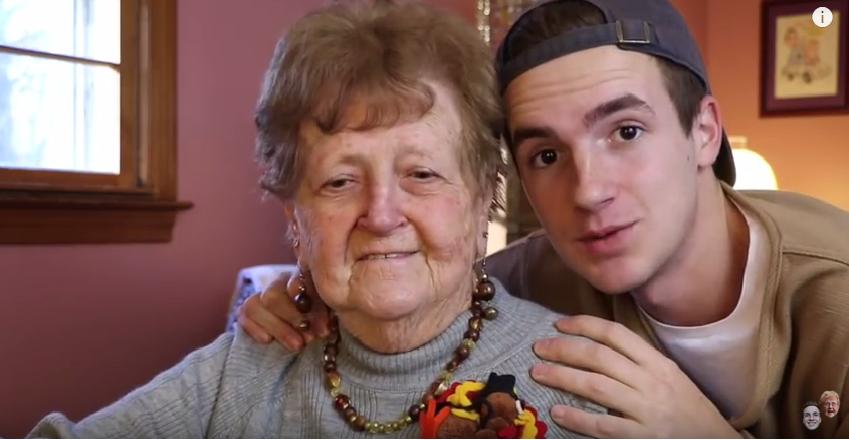 Świąteczny tutorial w wykonaniu babci