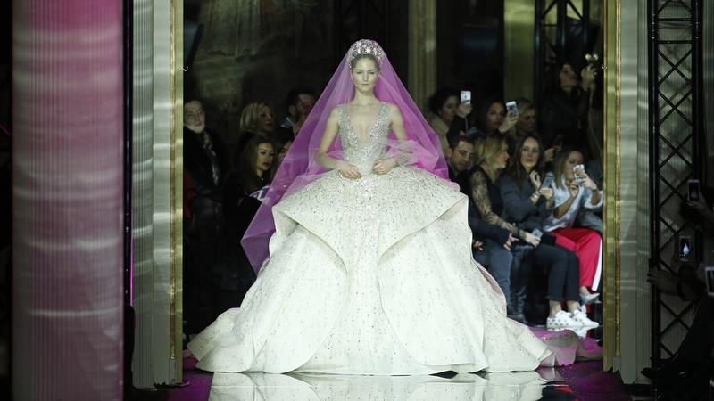 Suknie ślubne haute couture wiosna-lato 2017