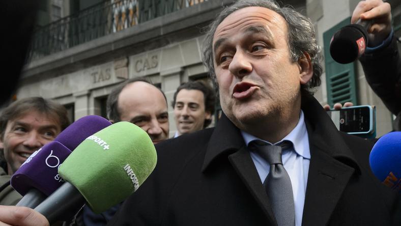 Michel Platini szerint nem esne egyenlő elbírálás alá a többi jelölttel / Fotó: AFP