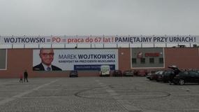 Włocławek: przedwyborcza wojna plakatowa