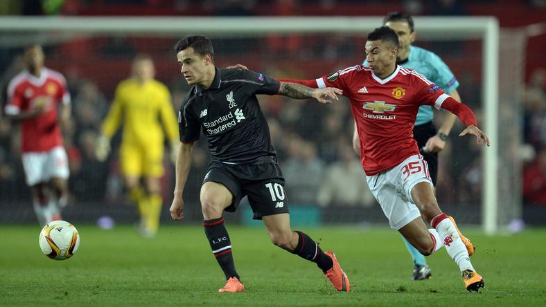 Coutinho (balra) lehűtötte a hazai reményeket /Fotó: AFP