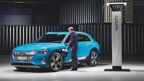 Audi e-tron - cztery pierścienie pod napięciem