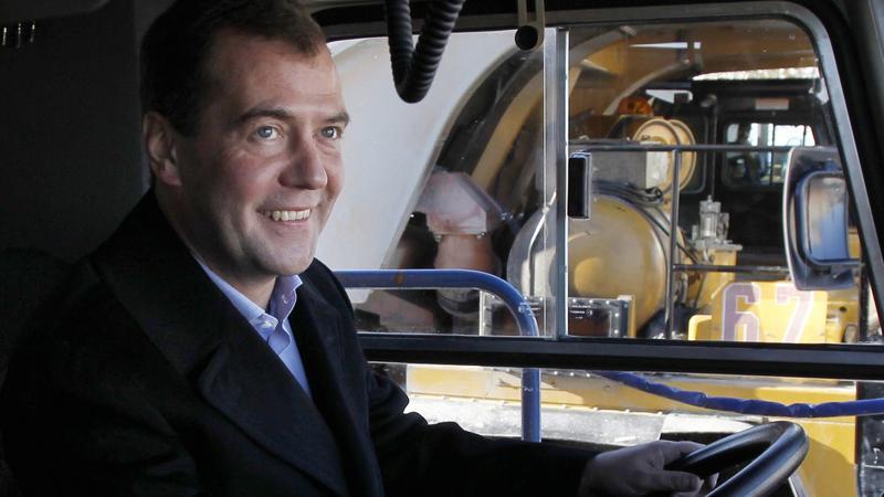 Dmitrij Miedwiediew, fot. PAP/EPA