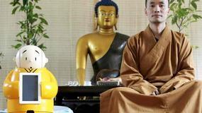 Buddyjscy mnisi korzystają z pomocy robota