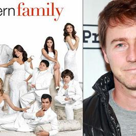 "Edward Norton w ""Modern Family"" na kanale FOX!"