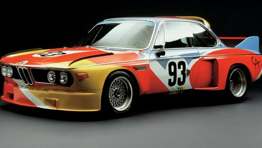 Wystawa BMW Art Car po raz pierwszy w Polsce