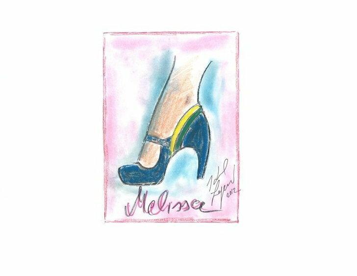 Projekt kolekcji Karla Lagerfelda dla Melissy/WWD