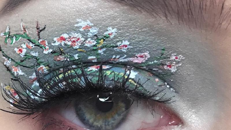 Makijaż inspirowany obrazami