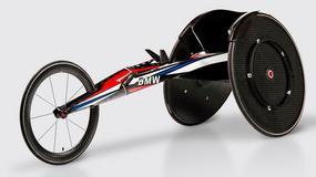 Wyścigowy wózek inwalidzki od BMW