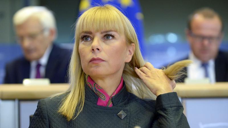 Elżbieta Bieńkowska podczas przesłuchania w PE