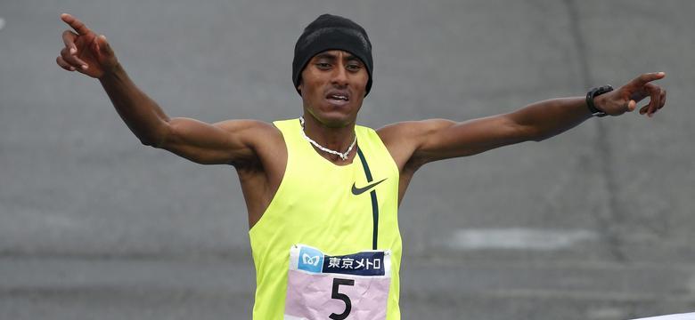 Tokijski niedzielny maraton...