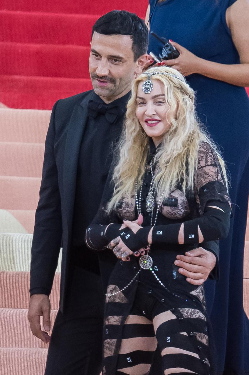 Riccardo Tisci z Madonną