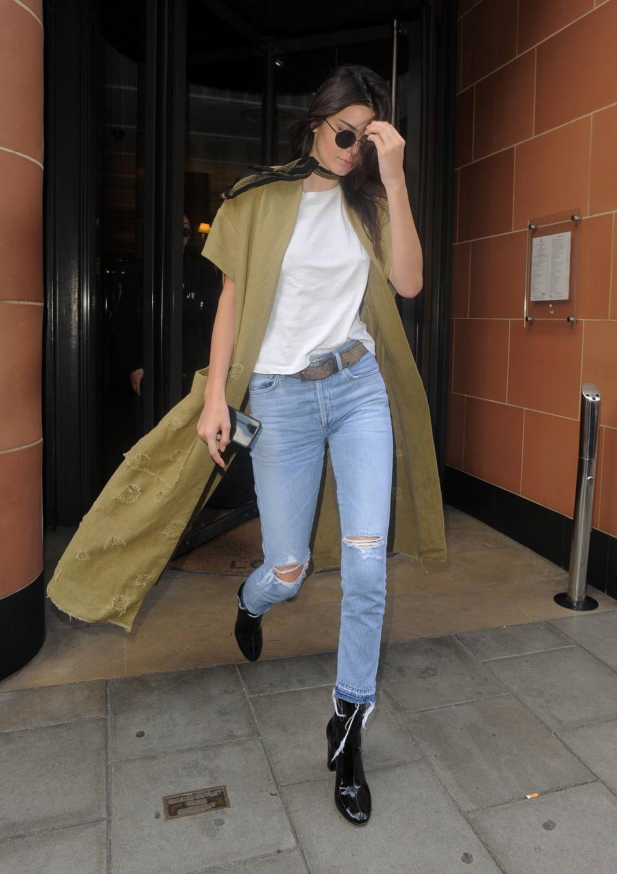 Kendall Jenner w Londynie