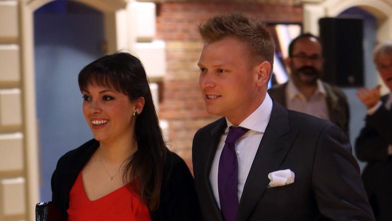 Tiborcz István és felesége, Orbán Ráhel / Fotó: RAS-Archiv